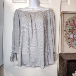 Lucky Brand Off the shoulder white